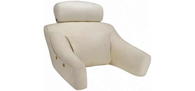 BedLounge Back Wedge - Back Support Comfort Reading Pillow