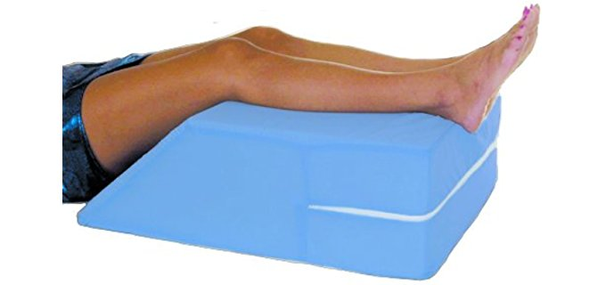 Essential Medical Elevating Leg - Knee Pillow for Back Sleepers