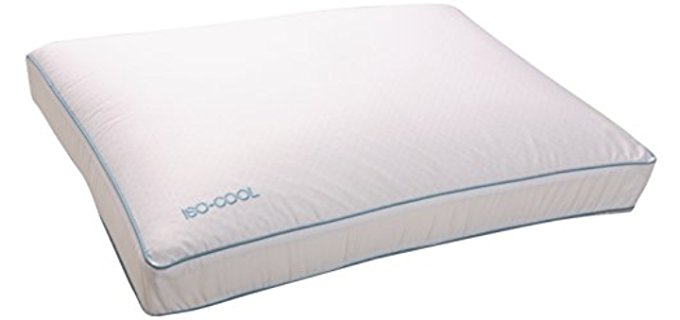 Sleep Better Iso-Cool - Cooling Memory Foam Therapeutic Pillow
