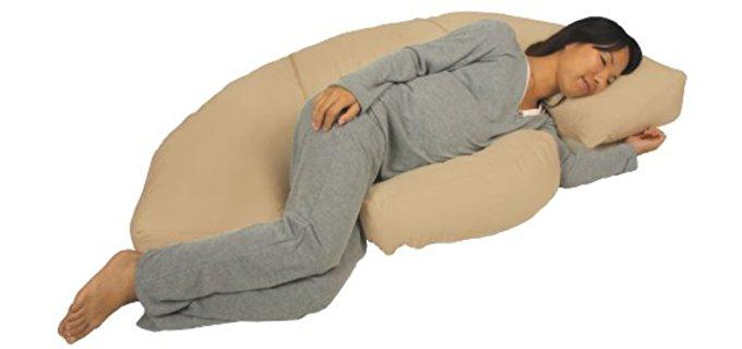 Leachco Body Bumper - Contoured Pregnancy Body Pillow