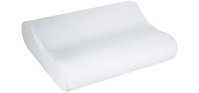 Sleep Innovations Memory Foam - Contoured Therapeutic Pillow