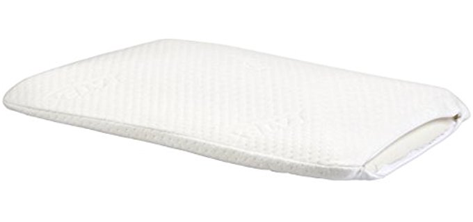 Elite Rest Slim Sleeper - Thin Latex Foam Pillow