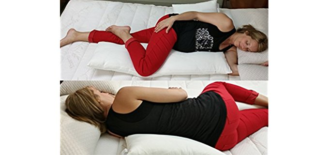 Schmoozi Pregnancy Pillow - Back Support Pillow