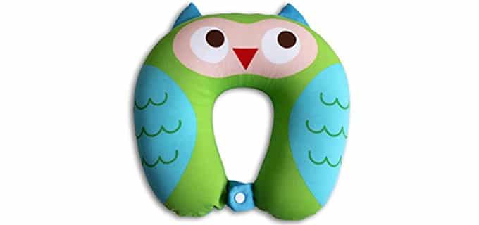 Nido Nest U Shaped Pillow - U Shaped Kids Travel Pillow