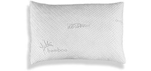 Xtreme Comforts Hypoallergenic - Bamboo and Memory Foam bed Pillows