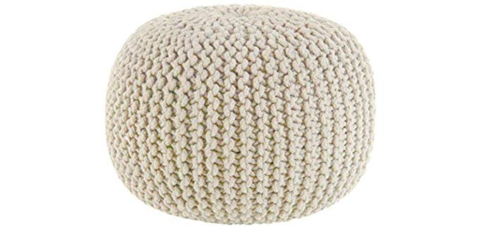 Cotton Craft Dori Pouf - All Purpose Floor Pillow