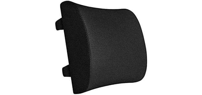 Everlasting Comfort Memory Foam - Lumbar Back Support Cushion