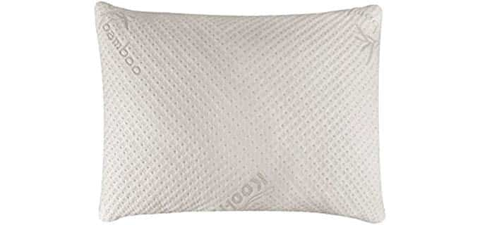 Snuggle-Pedic Bamboo - Natural Adjustable Pillow