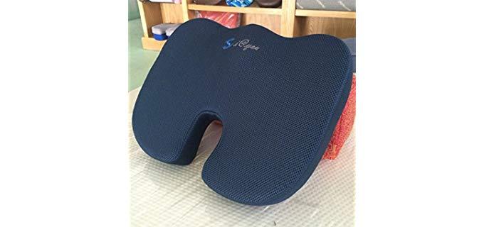 Cheerhuzz SunrisePro - Premium Car Seat Foam Cushion