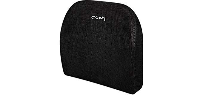 Cush Comfort Lumbar Cushion - Car Seat Pillow