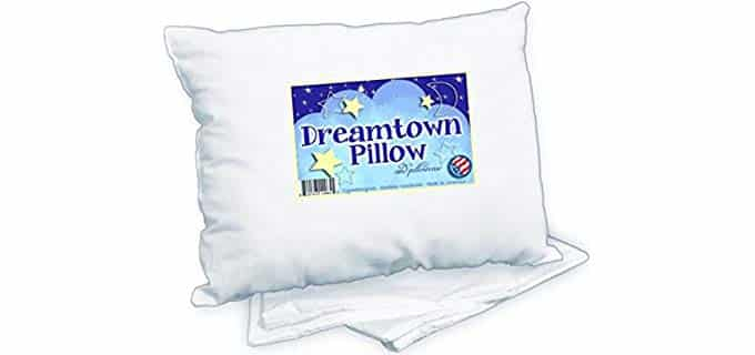Dreamtown Kids Toddler - Pillow for Baby Over 2 Years