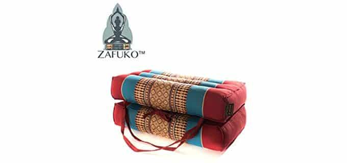 Zafuko Yoga - Foldable Meditation Bolster Pillow