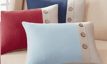 Button Pillows Feature