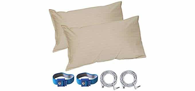 Land Kissing Grounding - Earthing and Grounding Pillowcase Set
