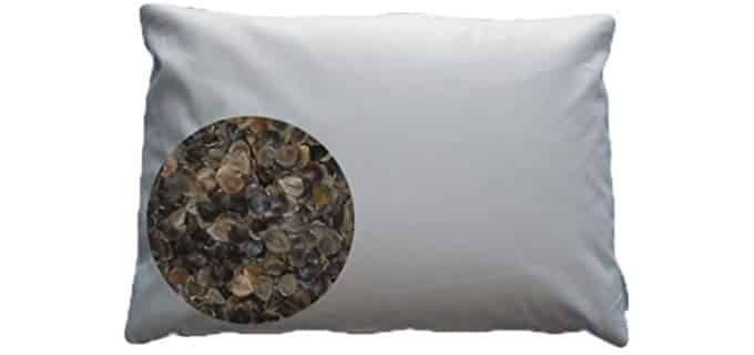 Beans72 Buckwheat Pillow - Unbleached Organic Buckwheat Pillow