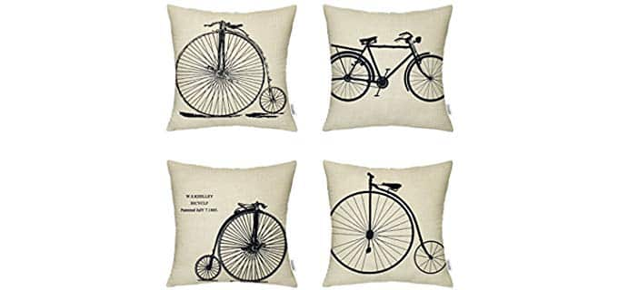 Hippih Season Throw Pillow Cases - Throw Pillow Cases for All Seasons