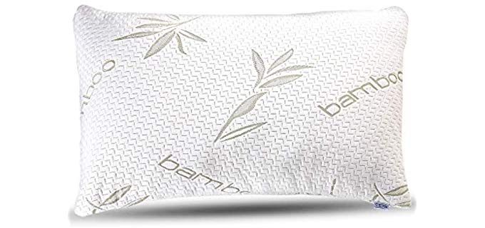 Sleepsia Bamboo - Stomach Sleeper Pillow