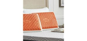Sealy CoolGEL - Memory Foam Copper Infused Pillow