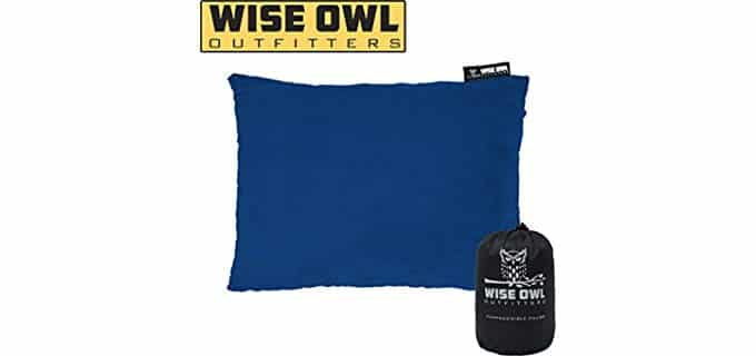 Wise Owl Compressible - Compact Backpacking Pillow