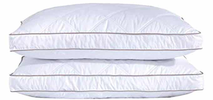 PureDown Natural - Down Pillow for Combination Sleepers