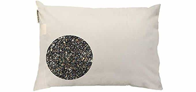 beans 72 Organic - Buckwheat Pillow