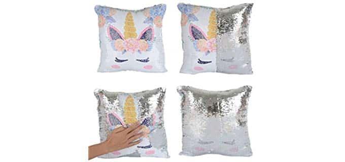 Merry Color Mermaid - Unicorn Pillow