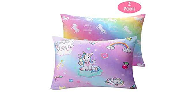 Nidoul Toddler - Unicorn Pillow Cases