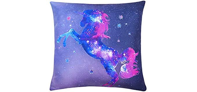 Yinfung Galaxy - Unicorn Pillow Case