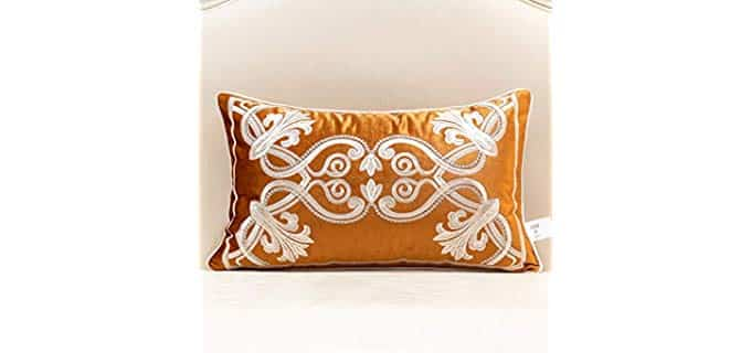 Avigers Decorative - Velvet Pillow Cover for Chair