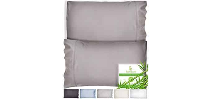 Bampure Bamboo - Bamboo Fiber Cooling Pillowcase
