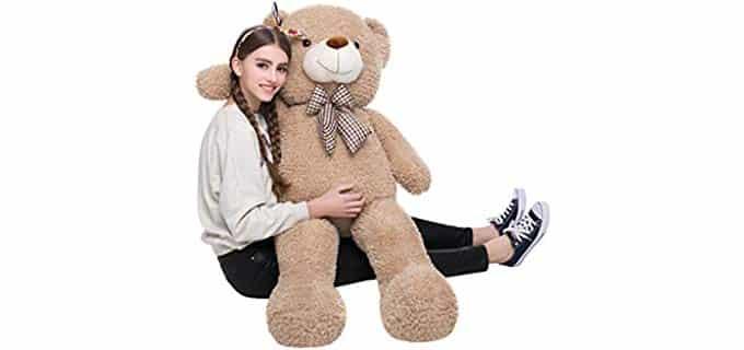 DOLDOA Stuffed Animal - Big Teddy Bear Body Pillow