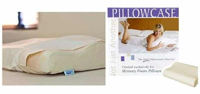 Gotcha Covered Contoured - Memory Foam Pillowcase