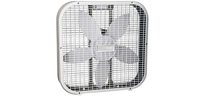 Holmes HBF2010AWM - White Sleeping Box Fan