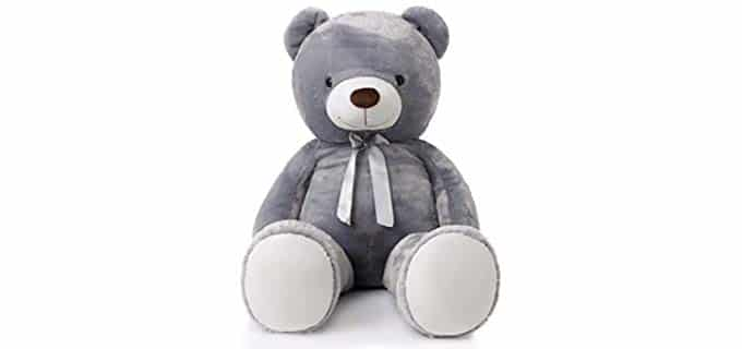 MorisMos Gray - Stuffed Animal Soft Plush Pillow