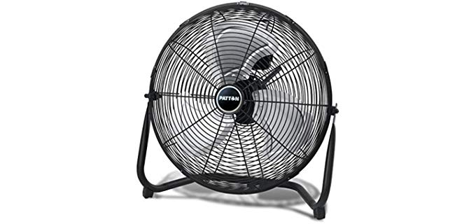 Patton PUF1810C-BM - High Velocity Fan for Sleeping