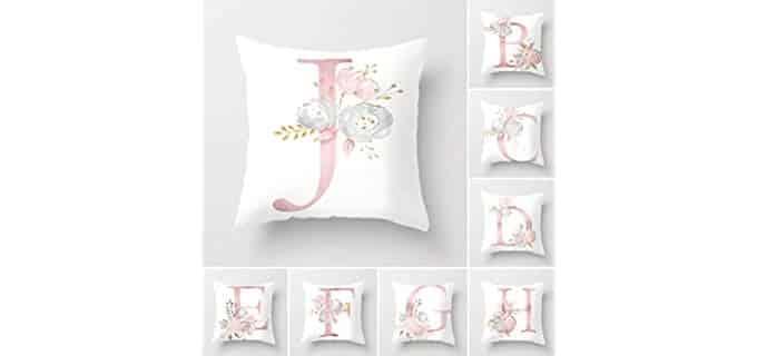 Tillskuch English - Alphabet Throw Pillow Covers