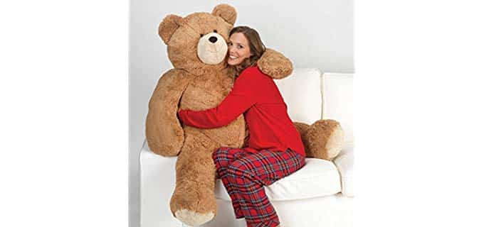 Vermont Teddy Bear Soft - Body Pillow Giant Teddy Bear