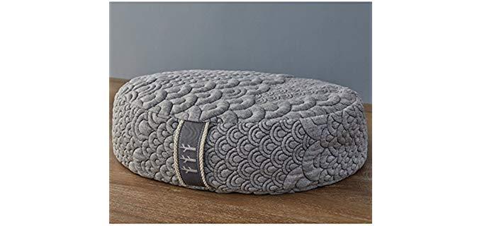 Brentwood Home Crustal Cove - Buckwheat Mediation Pillow