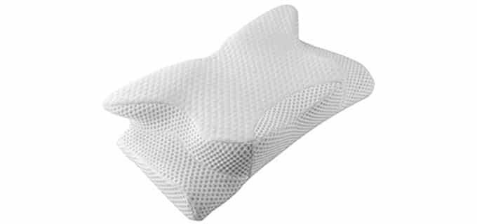 Coisum Memory Foam Contour Pillow - Orthopedic Pillow for Neck Pain