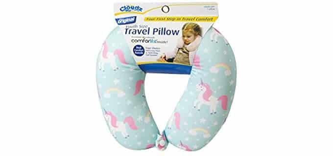 Cloudz Kids - Microbead Kid's Travel Pillow