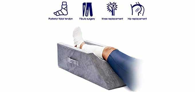 LightEase Memory Foam - Leg elevation Pillow