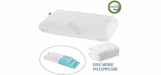Lofe Sandwhich Pillow - Orthopedic Design Firm Pillow