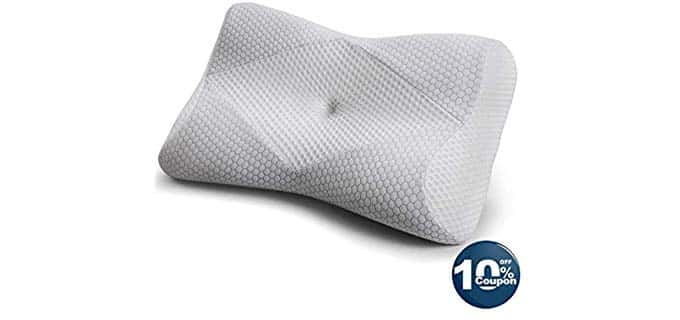 MKicesky Premium - King Size Memory Foam Pillow
