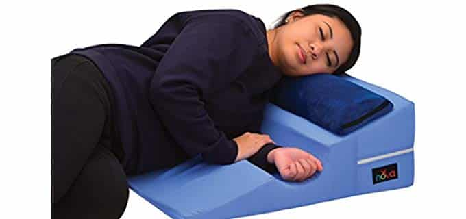 Nova Bed Wedge - Arm Sleeper Pillow