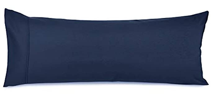 Nestl Bedding Brushed Microfiber - Durable Body Pillow Case