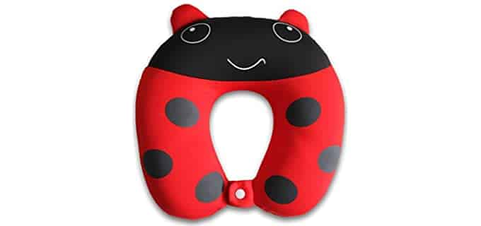 Nido Nest Ladybug - Fun Toddler Travel Pillow