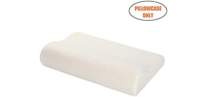 Ureverbasic Rayon - Memory Foam Pillow's Case