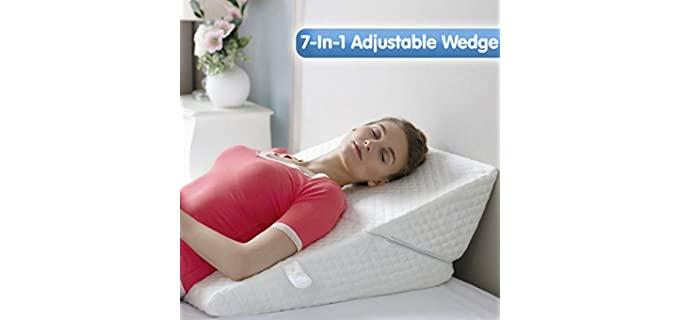 Bekweim Memory Foam - Best Adjustable Pillow
