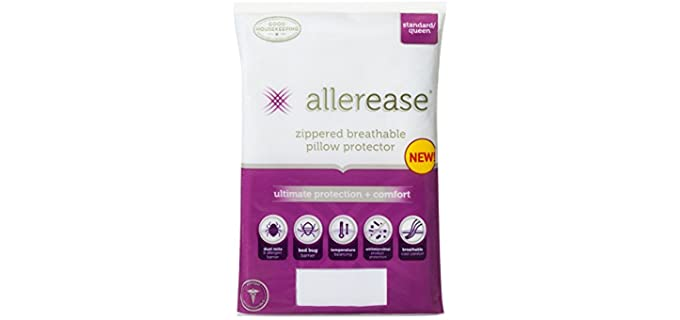 AllerEase Temperature Balancing - Allergist Recommended Pillow Cover