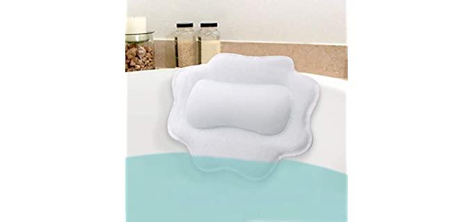 B BEAUTYBABY Non-Slip - Best Bath Pillows